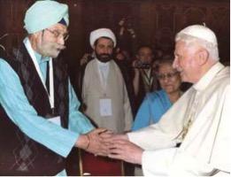 neki with pope