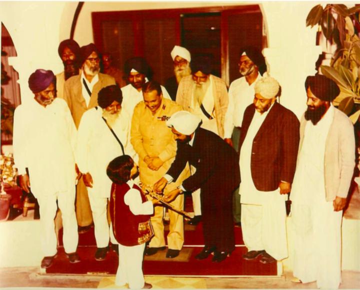 Sardar Ganga Singh Dhillon